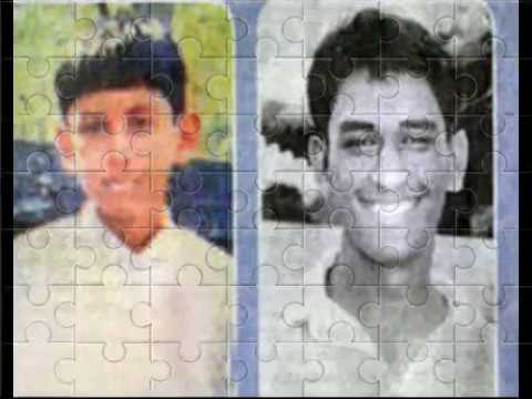 indian cricketer captain mr mahendra singh dhoni childhood and old images (photo