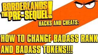 Borderlands The Pre-Sequel Hack: How To Change Badass Rank
