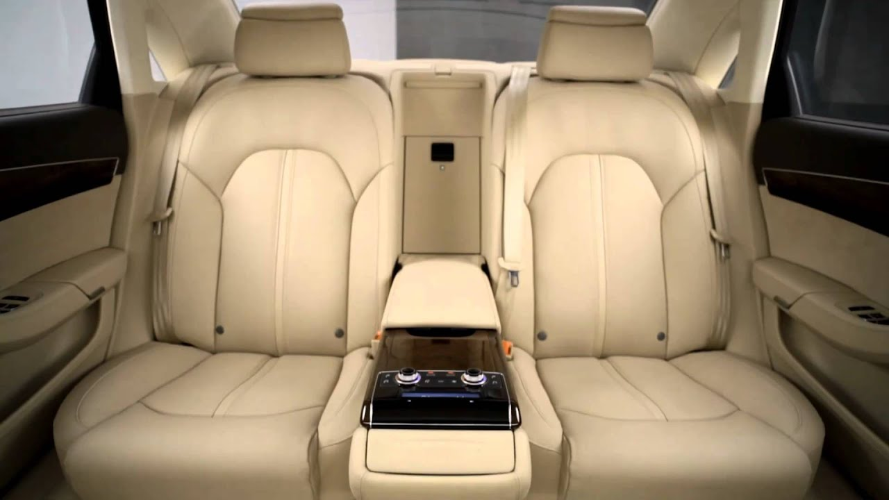 Audi A8 Rear Seating Youtube