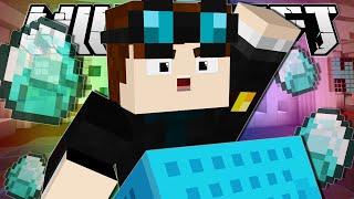 Minecraft | HUNT FOR THE DIAMOND MINECART!!