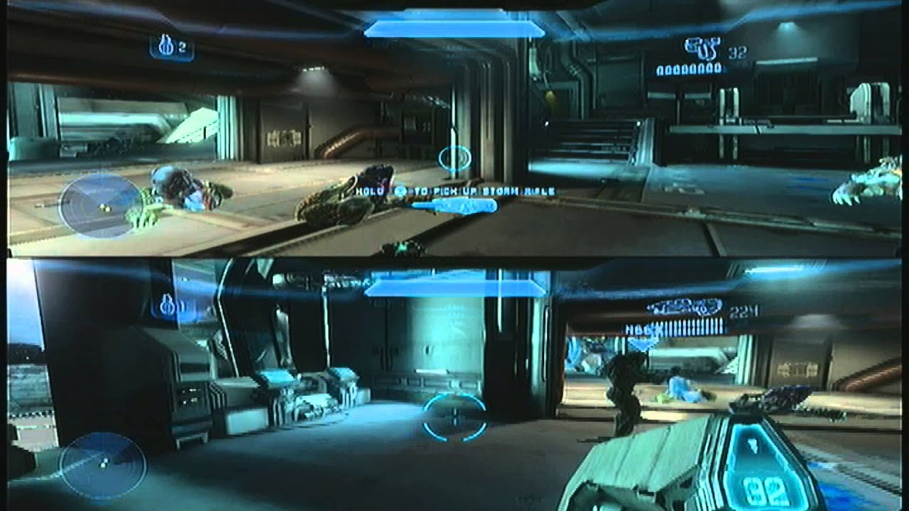 halo 4 4 player split screen offline