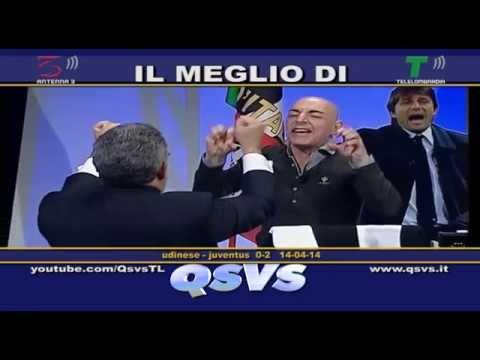 QSVS - I GOL DI UDINESE - JUVENTUS 0-2  - TELELOMBARDIA / TOP CALCIO 24