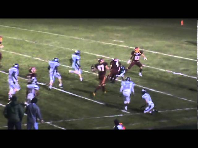 9-27-13 - Kyle Rosenbrock makes some incredible moves for 33 yards