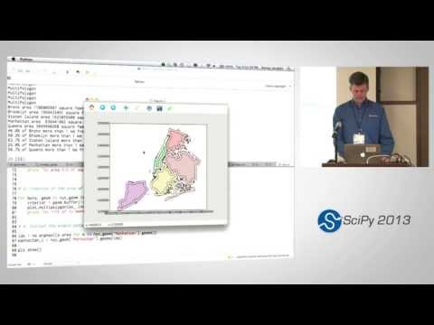 Image from Using Geospatial Data with Python, SciPy2013 Tutorial, Part 6 of 6