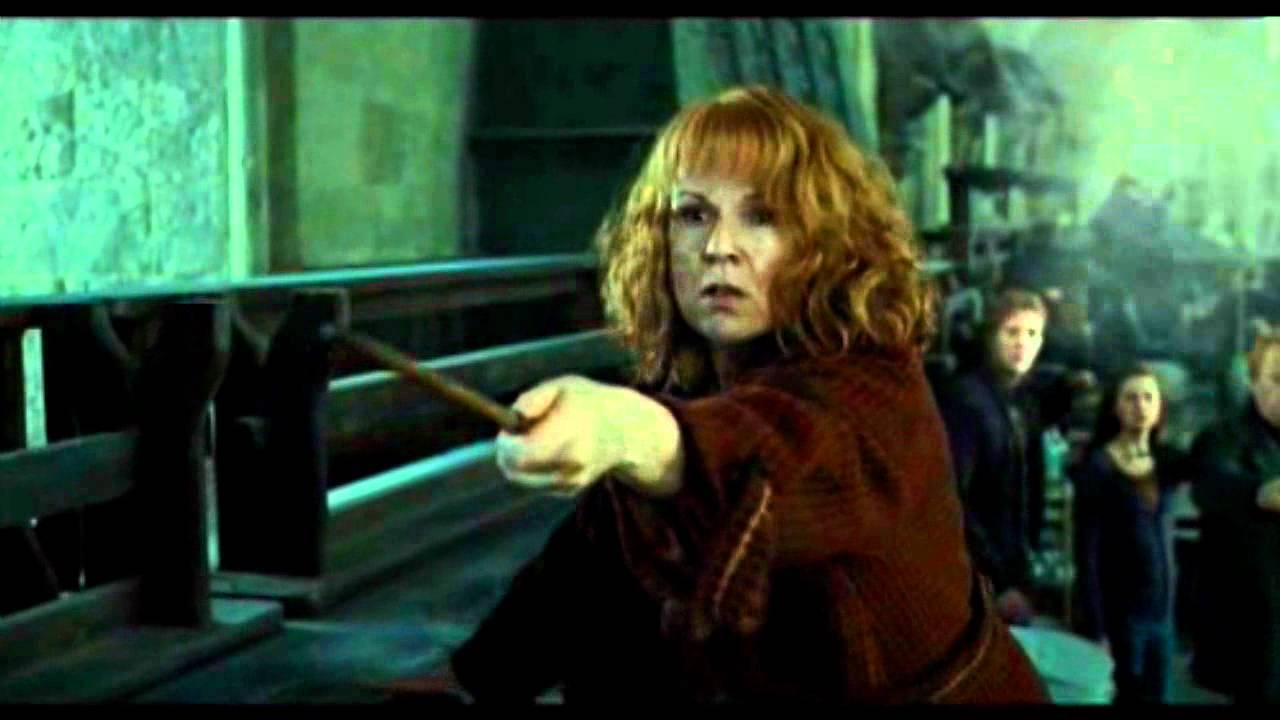 epic weasley scene 65 quotnot my daughter you bitch