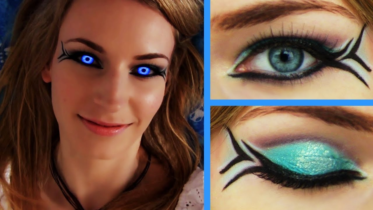 Summer Makeup Tutorial - Mermaid Makeup