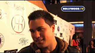 chanel-: Michael Copon Talks To Hollywood.TV At The 5TH Quarter Event