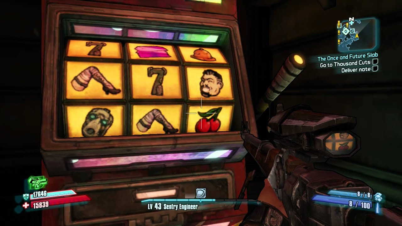 Borderlands 2 weapon slots best live dealer roulette