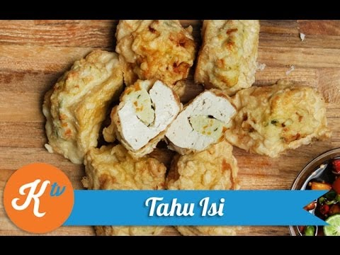 Resep Tahu Isi (Stuffed Fried Tofu Recipe Video)