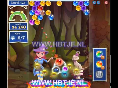 Bubble Witch Saga 2 level 124