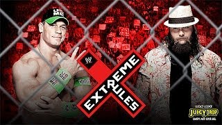 WWE Extreme Rules 2014 : John Cena Vs Bray Wyatt Steel
