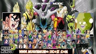 Dragon Ball Z Raging Blast 2 MUGEN By AlexSilva