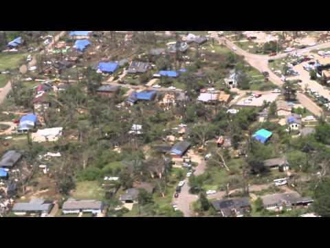 Tupelo Tornado Aerial Footage