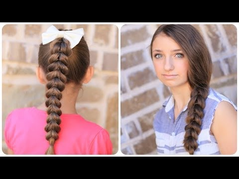 Pull-Through Braid | Easy Braided Hairstyles