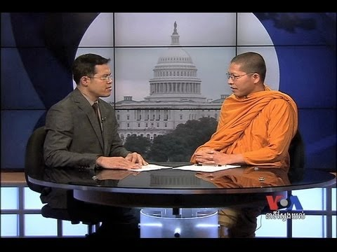 Cambodian Monk and Harvard Graduate Sees Dreams Becoming Reality