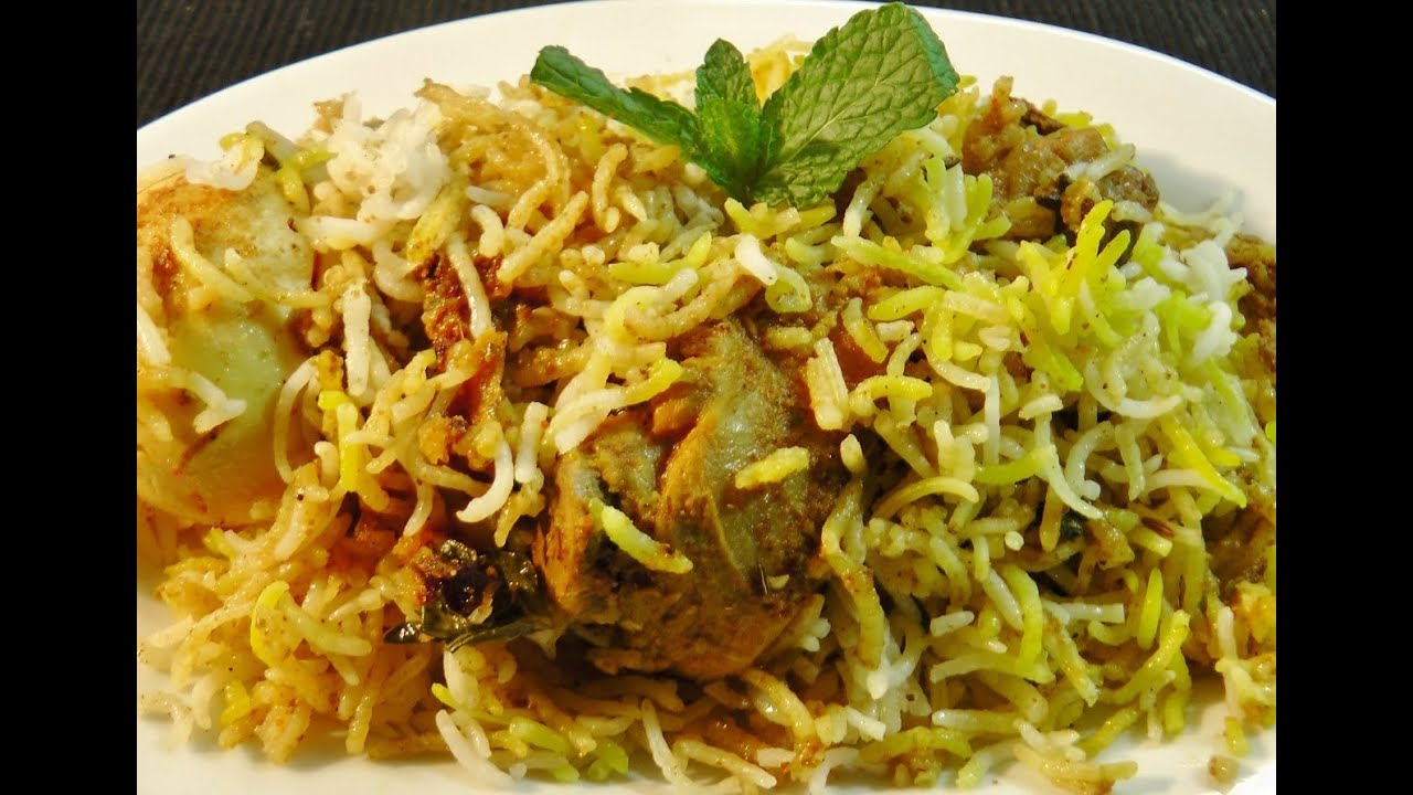 Chicken Biryani - YouTube