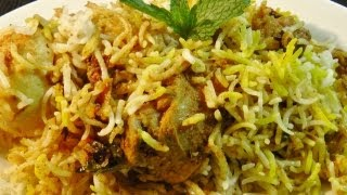 Chicken Biryani..