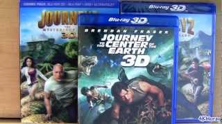 Journey 2 Blu-ray 3D The Mysterious Island Unboxing Review