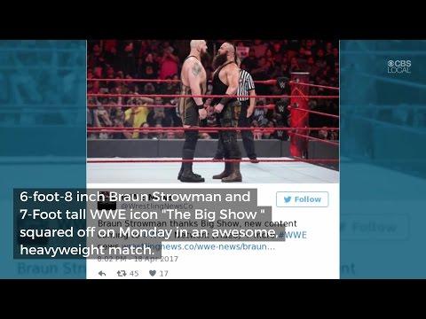 Braun Strowman's Massive Suplex Of