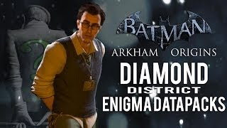 Batman Arkham Origins Diamond District All Enigma