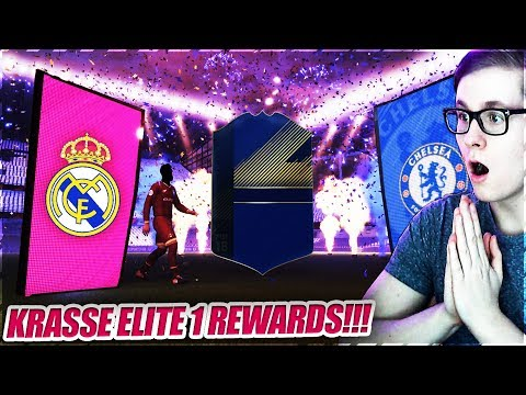 Diese ELITE 1 REWARDS sind anders!! 😱😍🔥 FIFA 18 Fut Champions Pack Opening