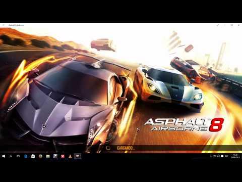 Windows 8/10: El mejor juego de carreras para PC completamente Gratis (Asphalt 8: Airborne)