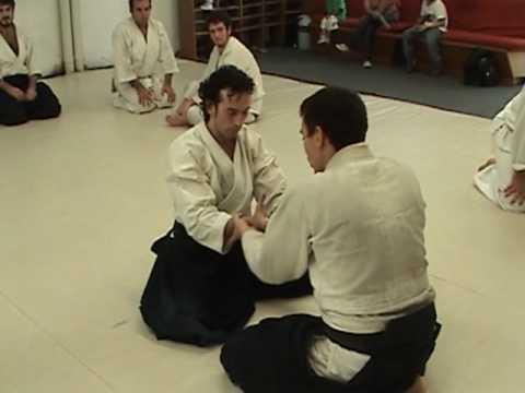 Aikido - Technique - Kokyu Dosa - Suwari waza Kokyuho - #1 #2