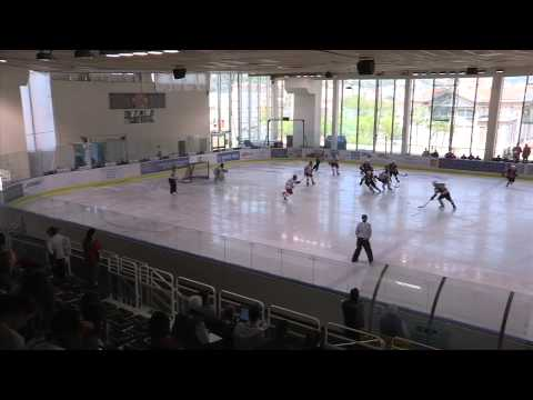 2014 IIHF ICE HOCKEY U18 WORLD CHAMPIONSHIP Div. I Group A, Latvia Belarus 2nd period