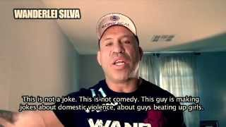 Wanderlei Silva Stands Against Racism And Chael Sonnen