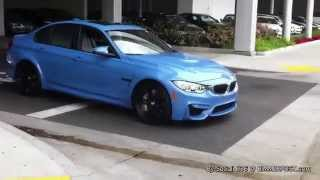 2015 BMW F80 M3 Accelerating Sounds