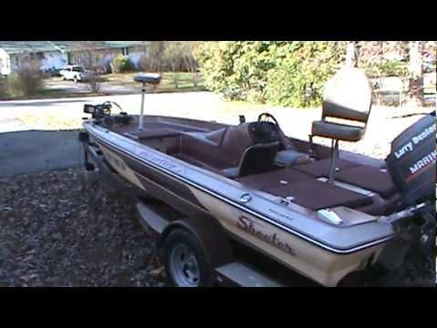 1987 Skeeter Starfire 150 Bass Boat - YouTube