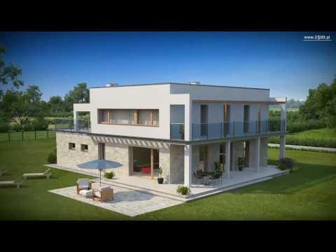 Projekty Z500 - projekt domu nowoczesnego Zx5