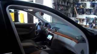 Custom Car Audio Stereo Ventura Mercedes Benz S430 2001
