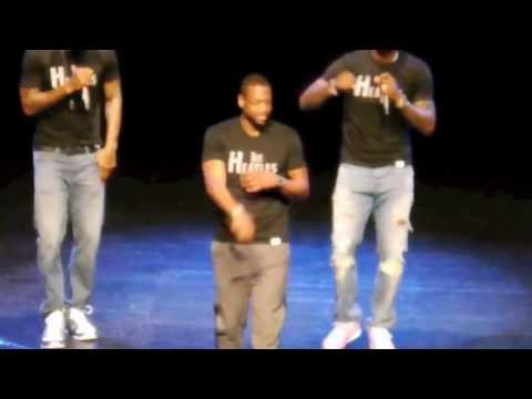 LeBron James D Wade and Haslem perform Blurred Lines HD
