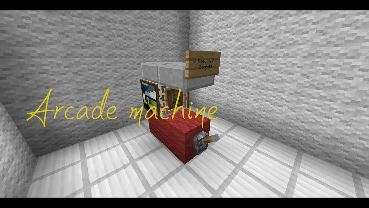 how to make a machine in minecraft