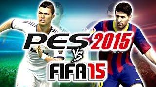 FIFA 15 VS PES 2015 ¿Cuál Es Mejor? Impresiones