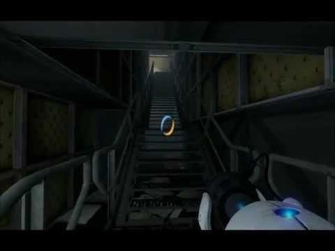 Нашел секретную комнату в Portal 2 (заснял)