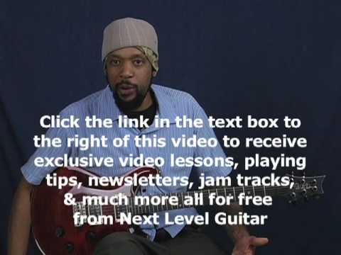 Guitar rhythm lesson with cool chords and delay chorus reverb effects tone ala Edge Perfect Circle