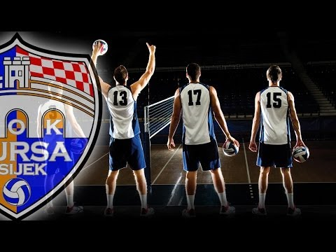 MOK MURSA Osijek vs. HAOK MLADOST Zagreb | Croatian 1A volleyball league