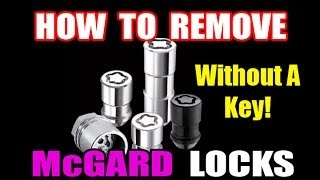 HOW TO REMOVE WHEEL LOCKS(simple No Key Solution)