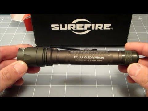 Surefire E2L AA Outdoorsman Flashlight Review