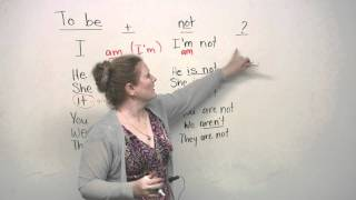 TO BE verb, Basic English Grammar Video Lessons, engvid