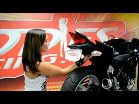 Hotbodies Racing 2011 Honda CBR250R TAG Fender Eliminator Installation