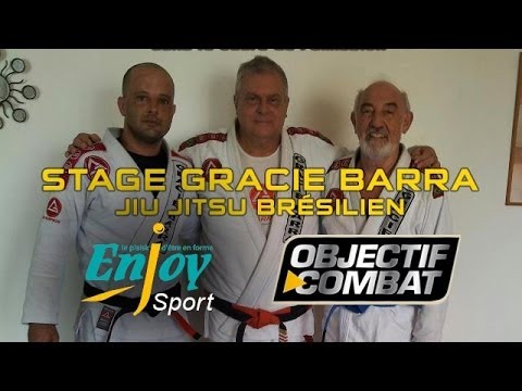 STAGE GRACIE BARRA JJB avec Enjoysport