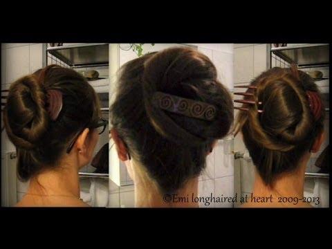 Modern Psyche Knot 1910 Hair Do ღ Youtube