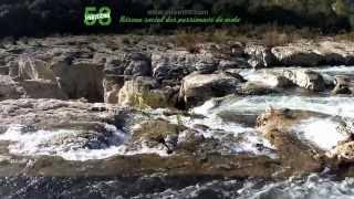 Roadbook moto Gard : Les Cascades du Sautadet - Les Gorges de la Cèze