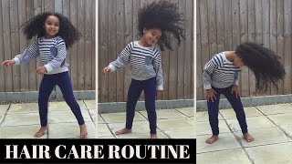 Kids Hair Tutorial - Daily Hair Routine - Natural Hair - Curly Hair Care - MIXED RACE HAIR - Curly😍