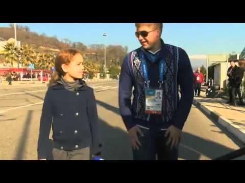Liza Temnikova, Sochi's Angel, Soars in Olympics Opening (photos)