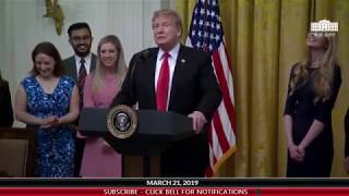 President Trump Signs Executive Order: Free Speech on College Campus 3/21/19