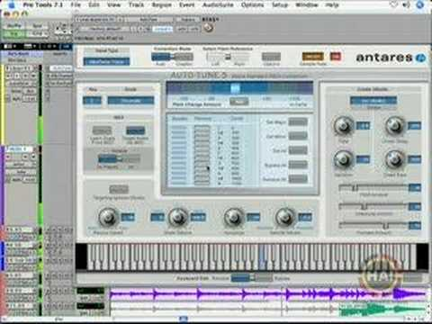 Antares Auto-Tune: Targeting Notes and Creating Harmonies Us